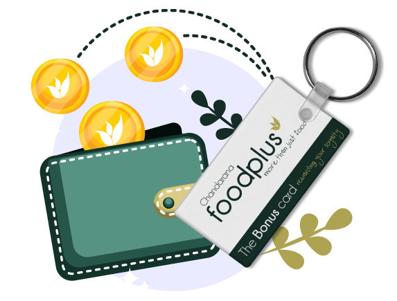 Foodplus bonus card